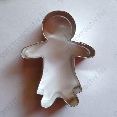 Lány sütemény kiszúró, sütikiszúró forma 7,5 x 5,5 cm