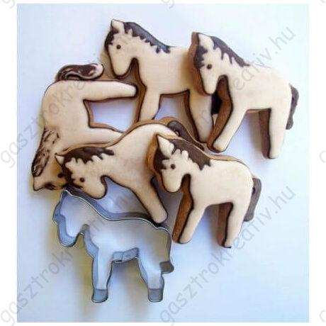 Ló alakú sütemény kiszúró forma 6 cm