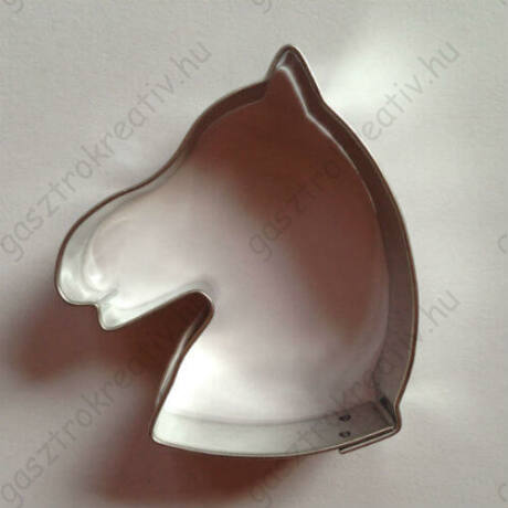 Lófej sütikiszúró, mézeskalács forma 6,4 cm