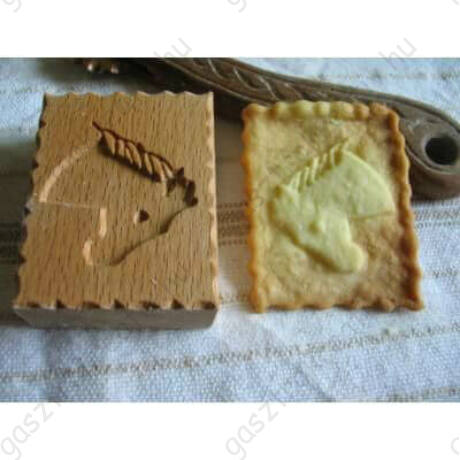 Lófej állatos fa sütemény pecsét
