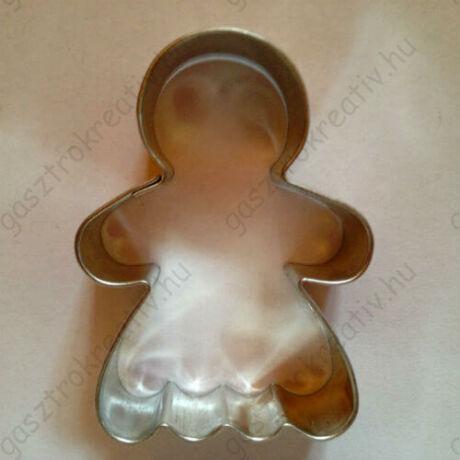 Mézeskalács baba forma, mézi lány kiszúró 5,3 cm