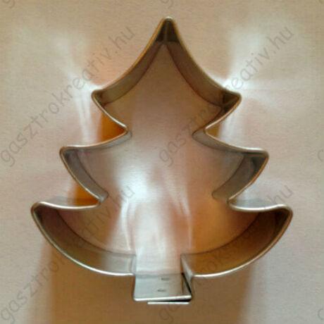 Mézeskalács fenyőfa, karácsonyfa sütikiszúró 6,1 cm