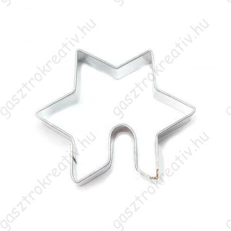 Mézeskalács bögrére csillag sütikiszúró 5 cm
