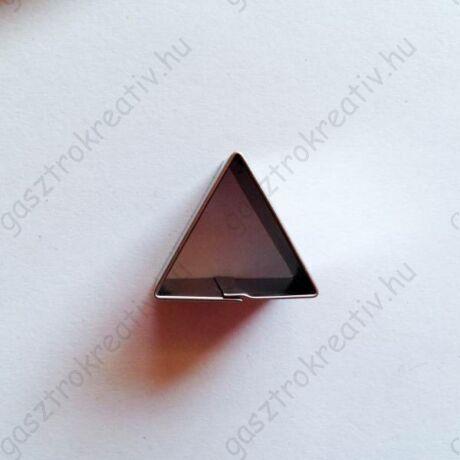 Mini háromszög linzer közép kiszúró, linzer kiszúró 2,2 cm