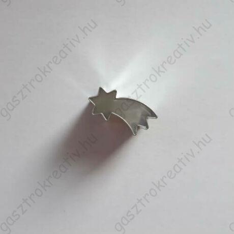 Mini hullócsillag linzer közép kiszúró, linzer kiszúró 2,3 cm