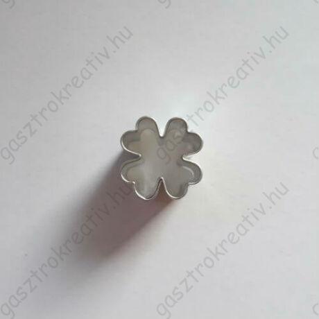 Mini lóhere linzer közép kiszúró, linzer kiszúró 2 cm