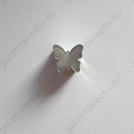 Mini pillangó linzer közép kiszúró,  linzer kiszúró 1,8 cm