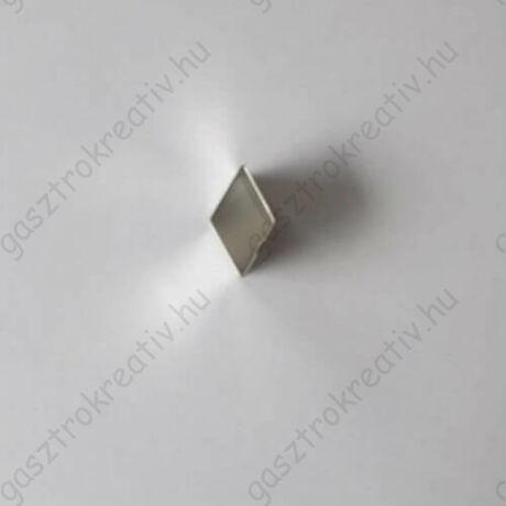 Mini rombusz linzer közép kiszúró, linzer kiszúró 2,5 cm
