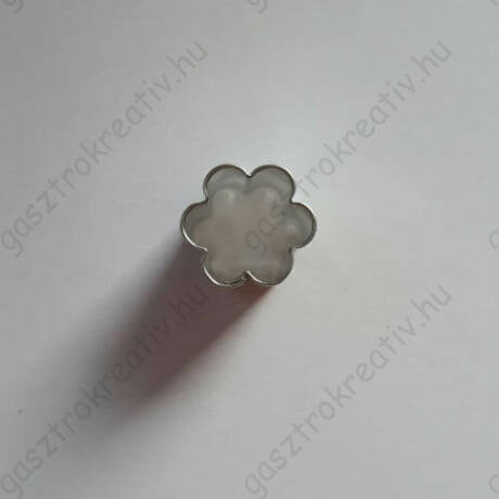 Iciri piciri virág linzer közép kiszúró, linzer kiszúró 1,2 cm
