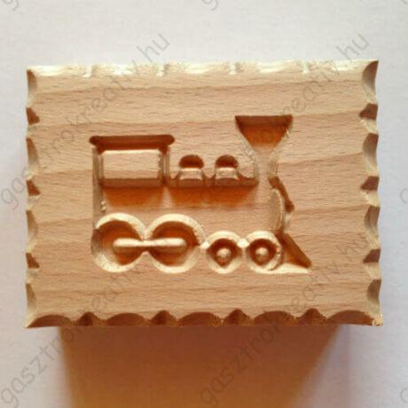Mozdony vonat keksz bélyegző, sütemény nyomda