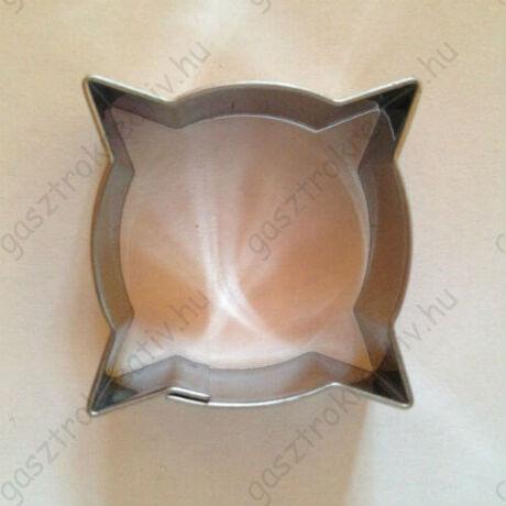 Párna alakú süti kiszúró, linzer kiszúró 3,6 cm