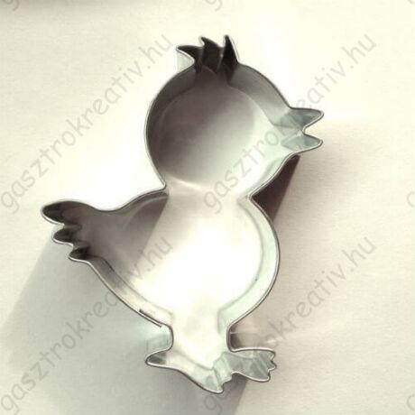 Pelyhes kacsa húsvéti mézeskalács kiszúró forma 6,8 cm