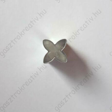 Pici virág linzer közép kiszúró, linzer kiszúró 1,5 cm