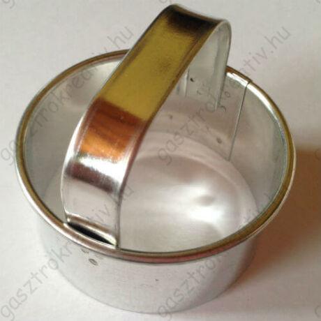 Pogácsaszaggató, pogácsa kiszúró 5 cm
