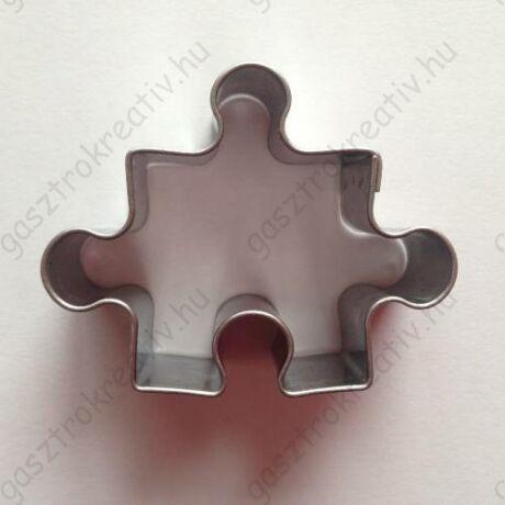 Puzzle kiszúró forma különlegesség 3,6 x 4,8 cm