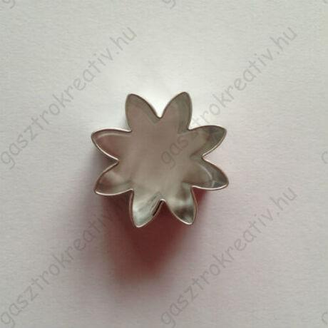 Százszorszép margaréta virág sütikiszúró forma 2,6 cm