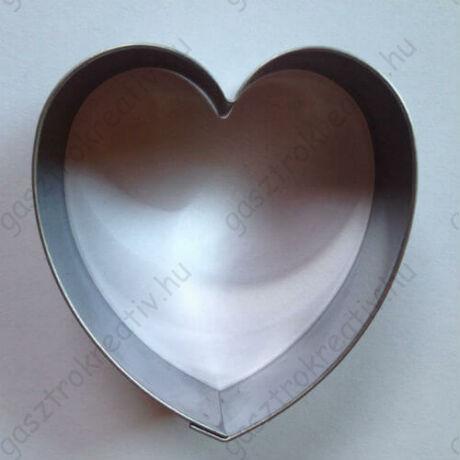 Szív sütikiszúró, mézeskalács forma 6,2 cm