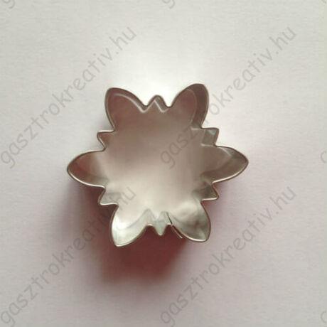 Tavaszi virág sütemény kiszúró forma 4,2 cm