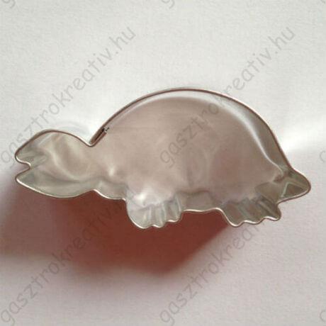 Teknősbéka kiszúró, sütikiszúró forma 5,5 cm