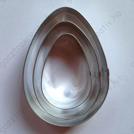 Tojás kiszúró készlet csomag 3 db-os 8,7 - 7 - 5,4 cm