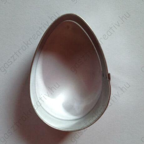 Tojás linzer kiszúró, húsvéti mézeskalács kiszúró 5,4 cm