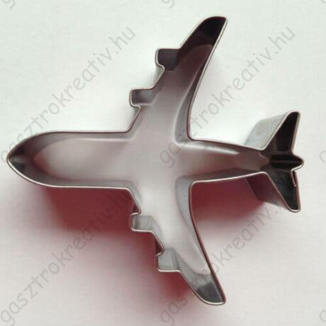 Utasszállító repülőgép jármű mézeskalács kiszúró forma 6,5 cm