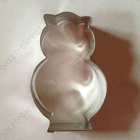 Bagoly állatos sütemény kiszúró forma 7 cm