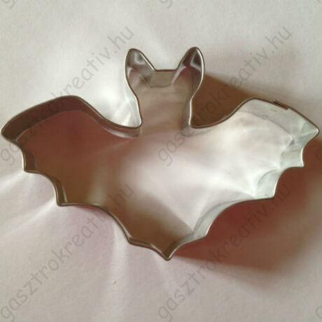 Denevér állatos sütikiszúró forma fém Halloween