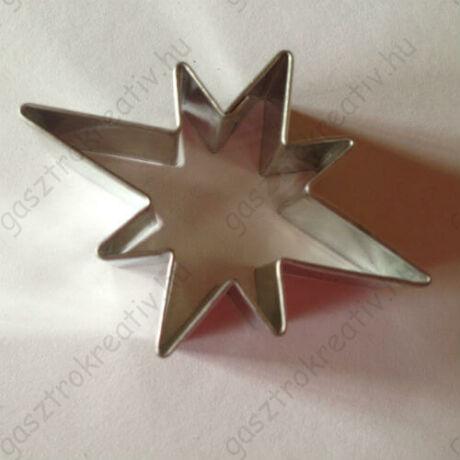 Esthajnal csillag karácsonyi sütemény kiszúró forma 5 cm