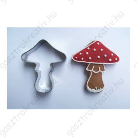 Gomba sütikiszúró forma 5,5 cm