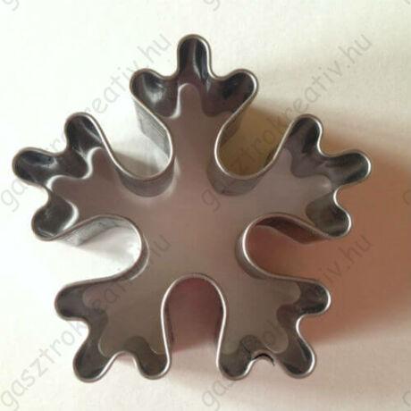 Hópehely hópihe karácsonyi sütemény kiszúró forma 5 cm