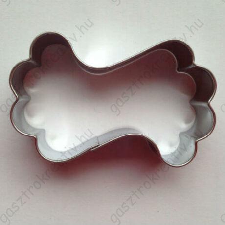 Hullámos babapiskóta mézeskalács kiszúró forma 6 cm