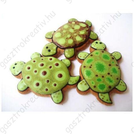 Teknősbéka állatos sütemény kiszúró forma 8 cm